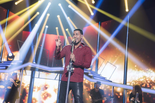 Romeo Santos en la gala 5 de 'OT 2017'