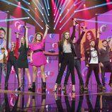 Los concursantes en la gala 5 de 'OT 2017'
