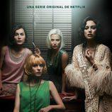 Póster de la segunda temporada de 'Las chicas del cable'
