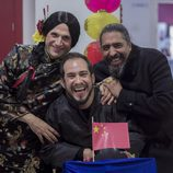 José Mota con El Langui y Diego el Cigala en el especial de Nochevieja