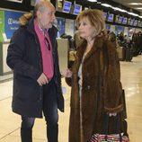 Jose Carlos Bernal, marido de Carmen Borrego, acude a despedir a Las Campos en la tercera temporada