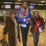 Carmen Borrego y María Teresa Campos con Raúl Prieto en la tercera temporada de 'Las Campos'