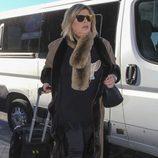 Terelu llega al aeropuerto Adolfo Suárez en la tercera temporada de 'Las Campos'