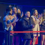 Los concursantes disfrutan de la actuación de Karen Méndez en la gala 12 de 'GH Revolution'