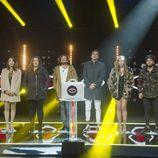 Los ocho finalistas se reúnen antes de que uno de ellos sea expulsado en la gala 12 de 'GH Revolution'