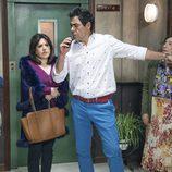 Yoli, Menchu, doña Fina y Amador Rivas en el décimo capítulo de la décima temporada de 'La que se avecina'
