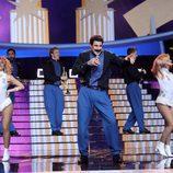 David Amor es Banda Blanca en la décima gala de 'Tu cara me suena 6'