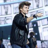 Fran Dieli imita a A-HA en la Gala 10 de 'Tu cara me suena 6'