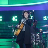Pepa Aniorte imita a la canaria Rosana en la Gala 10 de 'Tu cara me suena 6'