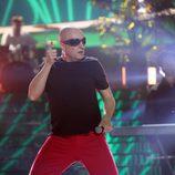 Raúl Pérez imita al vocalista de La Mosca Tse-Tse en la Gala 10 de 'Tu cara me suena'