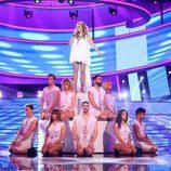 La terremoto de Alcorcón es Kylie Minogue en la décima gala de 'Tu cara me suena 6'