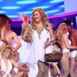 La terremoto de Alcorcón canta por Kylie Minoge en la Gala 10 de 'Tu cara me suena 6'