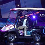 Lucía Gil interpreta a Nicky Jam en la gala 10 de 'Tu cara me suena 6'