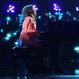 Lucía Jiménez es Carole King en la gala 10 de 'Tu cara me suena 6'