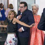 Maite y Bruno en una fiesta de lujo en el undécimo episodio de la décima temporada de 'La que se avecina'