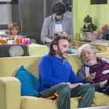 Fermín, Vicente, Lola y Javi, juntos el undécimo episodio de la décima temporada de 'La que se avecina'