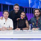 El jurado fijo de 'OT 2017' junto a Roberto Leal en la Gala 7