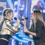 Nerea y Miriam cantan a duo en la Gala 7 de 'OT 2017'