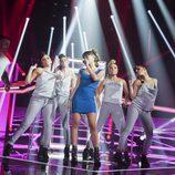 Aitana Ocaña en su actuación en la Gala 7 de 'OT 2017'