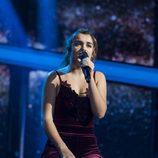 Amaia en su halagada actuación de la Gala 7 de 'OT 2017'