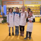 Exconcursantes de 'MasterChef Junior 4' en 'MasterChef Junior 5'