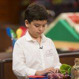 Juan Antonio, uno de los concursantes de 'MasterChef Junior 5'