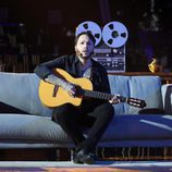 Raúl Pérez se pone en la piel de James Arthur en la gala 11 de 'Tu cara me suena'