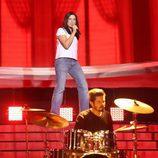 Lucía Jiménez es Texas en la gala 11 de 'Tu cara me suena'