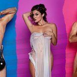 Àlex, Geno y Javián, de Fórmula Abierta, posan desnudos en la revista Primera Línea