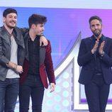 Cepeda y Roi son los nominados de la Gala 8 de 'OT 2017'