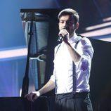 Agoney canta en francés en la Gala 8 de 'OT 2017'