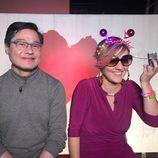 Cristina Pardo en el especial de navidad de 'Homo Zapping'