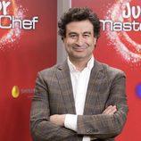 Pepe Rodríguez en la presentación de 'MasterChef  Junior 5'
