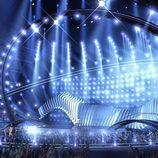 El diseño del escenario de Eurovisión 2018