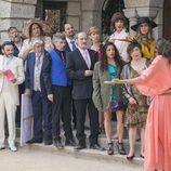 Todos los vecinos de Mirador de Montepinar en la boda de Fermín y Vicente en el último capítulo de la décima temporada de 'La que se avecina'