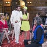 Lola lleva del brazo al altar a su padre Fermín en el último capítulo de la décima temporada de 'La que se avecina'