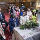 Vicente, Fermín y todos los invitados en la boda en el último capítulo de la décima temporada de 'La que se avecina'