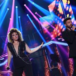 "Agoney y Gisela interpretan ""Somebody Else's Guy"" en la gala especial de Navidad de 'OT 2017'"