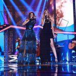 """Nuria Fergó y Mireya interpretan """"Noches de Bohemia"""" en la gala especial de Navidad de 'OT 2017'"""