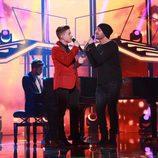 "Raoul y Alejandro Parreño cantan ""Don't Let the Sun Go Down on Me"" en la gala especial de Navidad de 'OT 2017'"