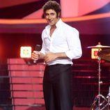 David Amor en la actuación de la duodécima gala de 'Tu cara me suena'