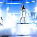 """Lucía Gil interpretando """"Say it right"""" en la duodécima gala de 'Tu cara me suena'"""