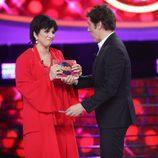 Lucía Jiménez se proclama ganadora de la duodécima gala de 'Tu cara me suena'