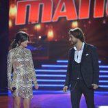 Alba Gil y Manuel Carrasco cantando juntos en la final de 'La Voz 5'