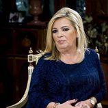 Carmen Borrego en la  presentación de la tercera temporada de 'Las Campos'