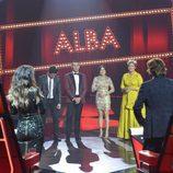 Gabriele y Alba esperando a conocer el nombre del ganador de 'La Voz 5'