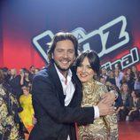 Alba Gil y Manuel Carrasco en la final de 'La Voz 5'