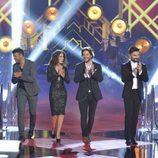 Los coach en la gala final de 'La Voz 5'