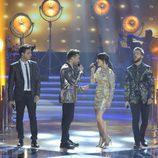 Los finalistas de 'La Voz 5' cantando juntos