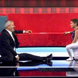 Carlos Sobera junto a Jorge en 'Little Big Show'
